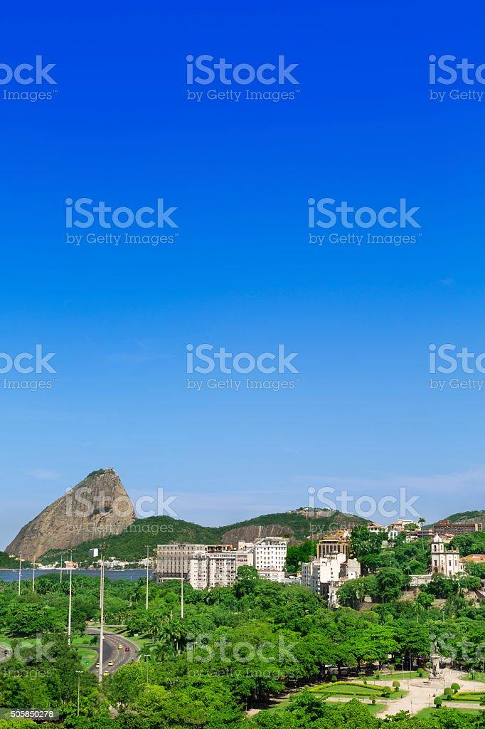 Aterro do Flamengo in Rio de Janeiro stock photo