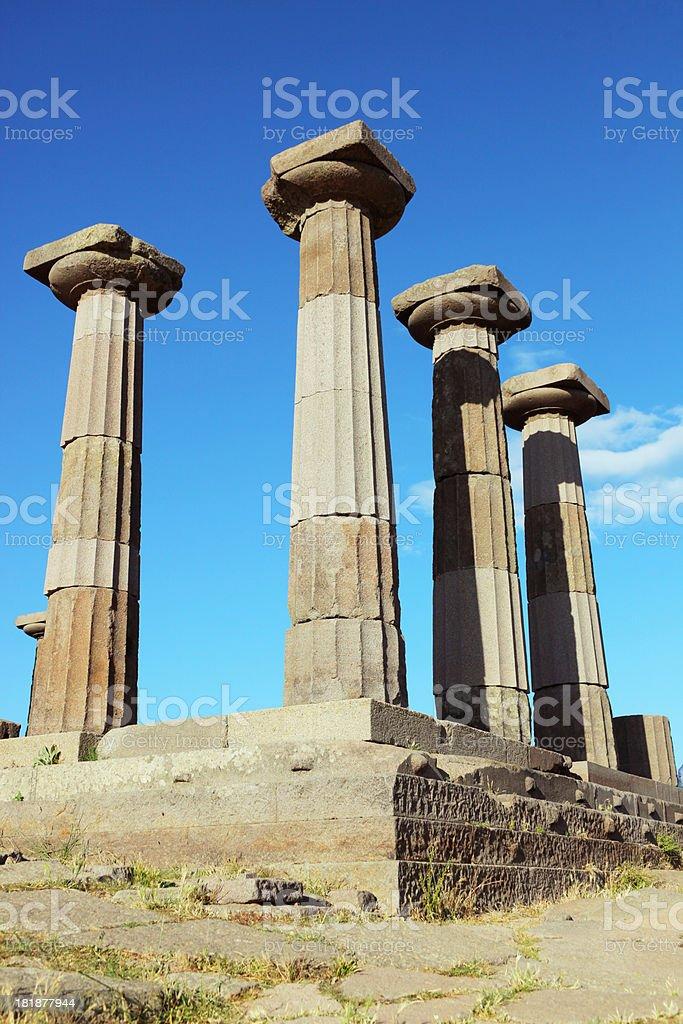 Athena Temple royalty-free stock photo