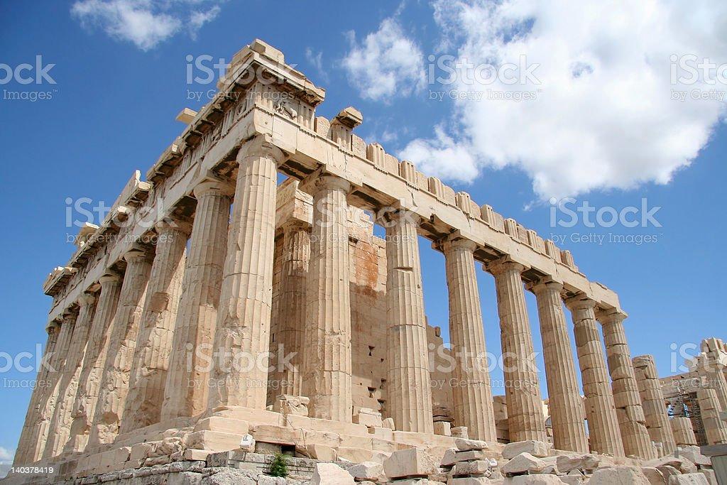Athens Acropolis Parthenon royalty-free stock photo