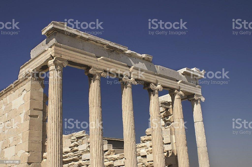 Athens Acropolis royalty-free stock photo