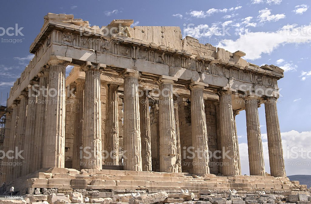 Athens, Acropolis stock photo