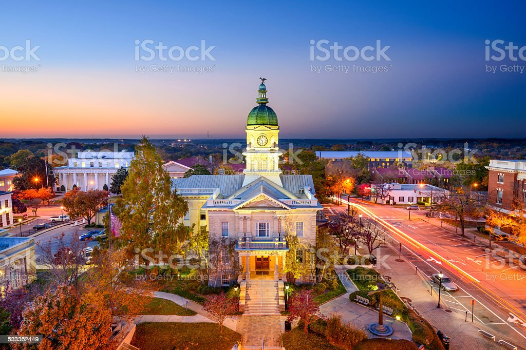 Athens, Georgia, USA stock photo
