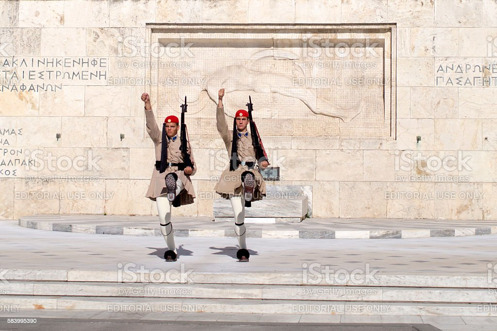 Athens, Greece - July 18, 2016 stock photo