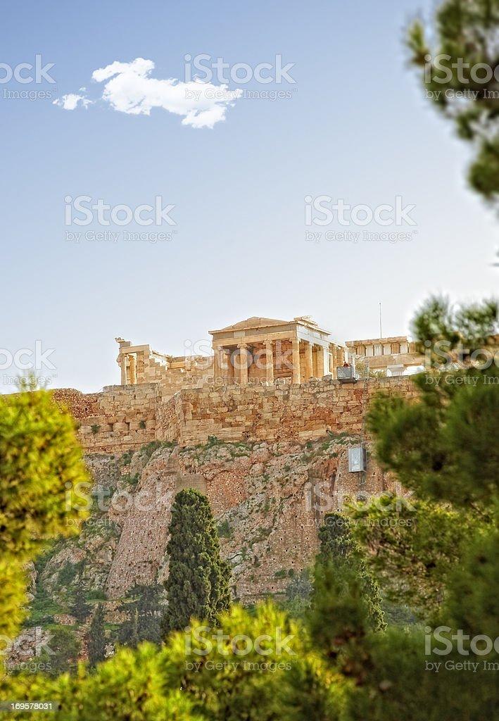 Athens, Greece - Parthenon royalty-free stock photo