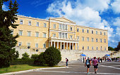 Athens, Greece, the parliament on Syntagma square