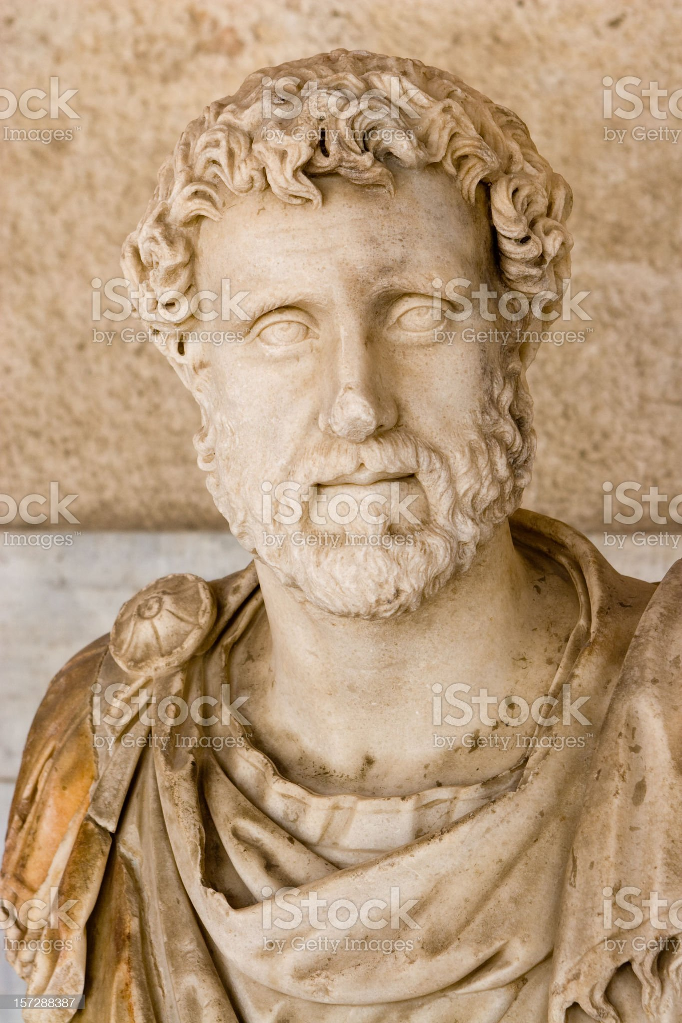 Athens, Greek Sculpture royalty-free stock photo