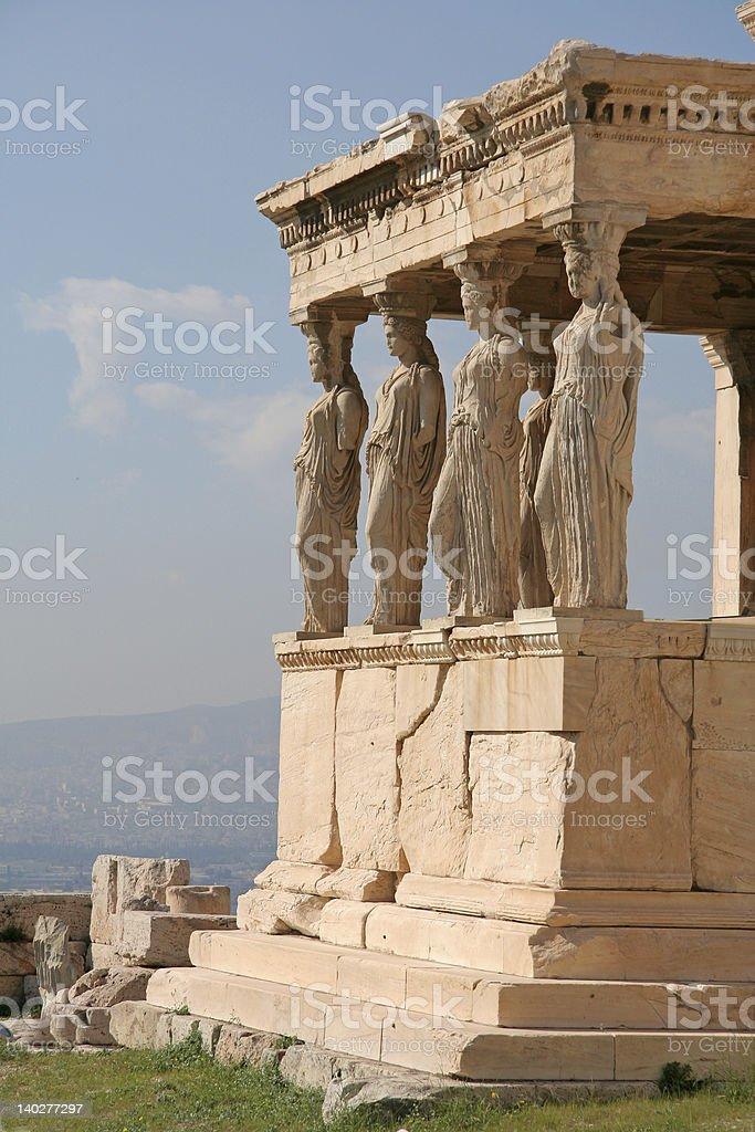 Athens Landmarks royalty-free stock photo