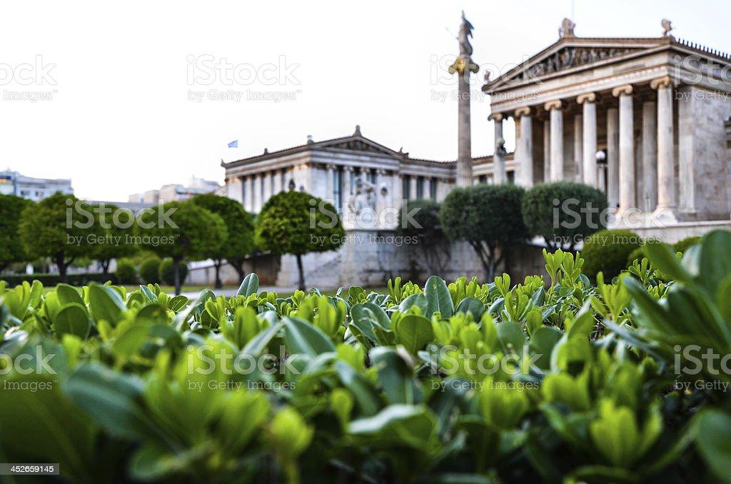 Athens, Panepistimiou Street stock photo