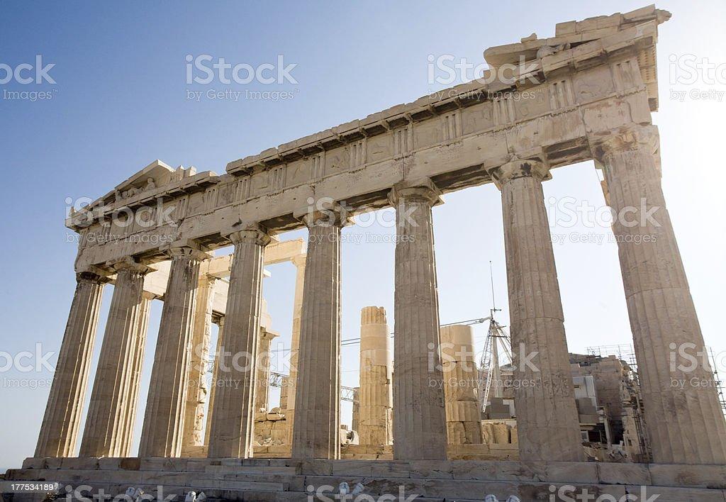 Athens Parthenon royalty-free stock photo