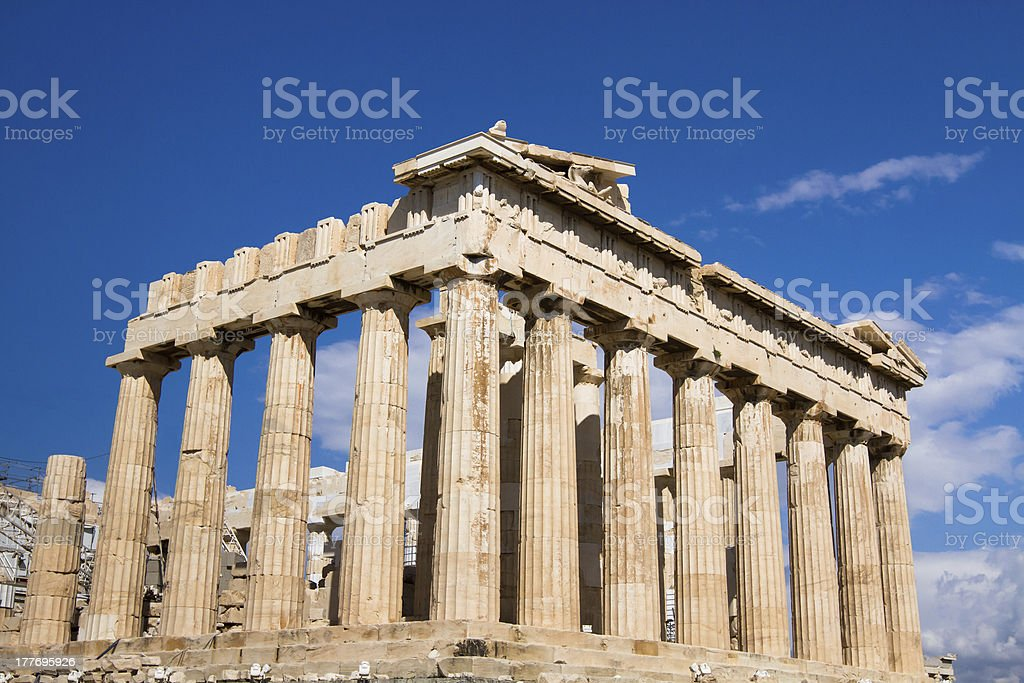 Athens royalty-free stock photo