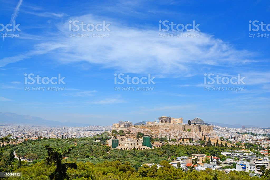 Athens stock photo