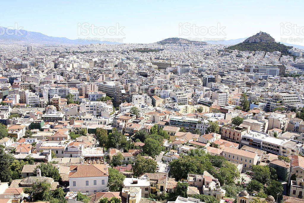 Athens royalty-free stock photo