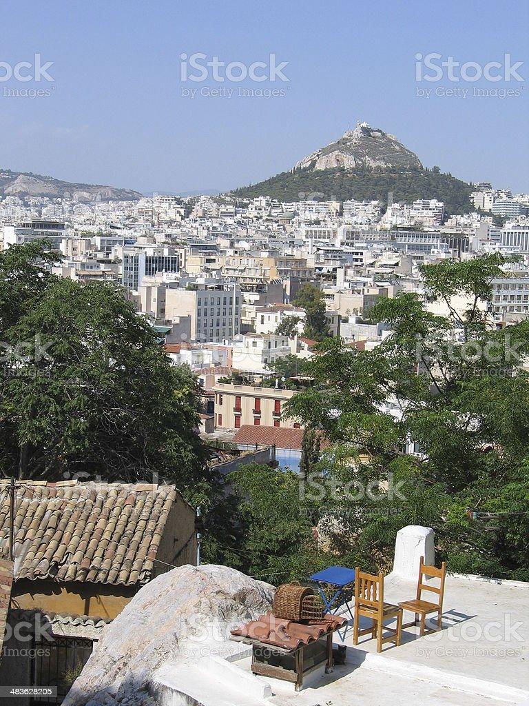 Athens sightseeing royalty-free stock photo