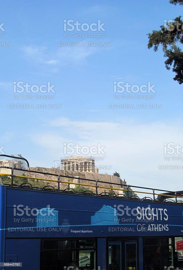Athens Sightseeing stock photo