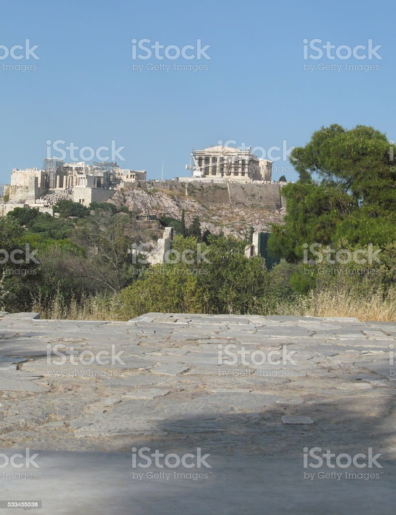 Athens Sightseeing stock photo