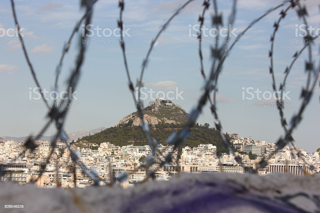 Athens Special View stock photo