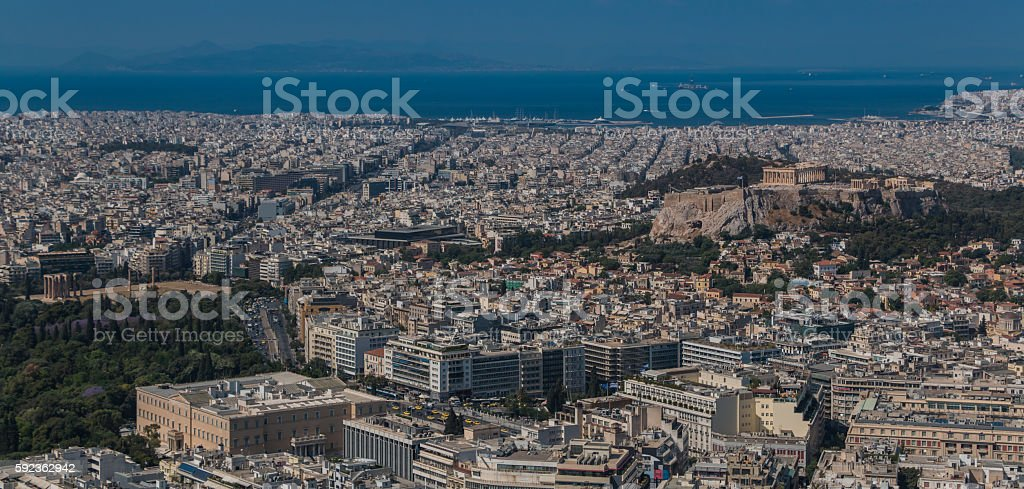 Athens V stock photo