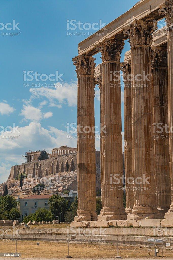Athens XVI stock photo