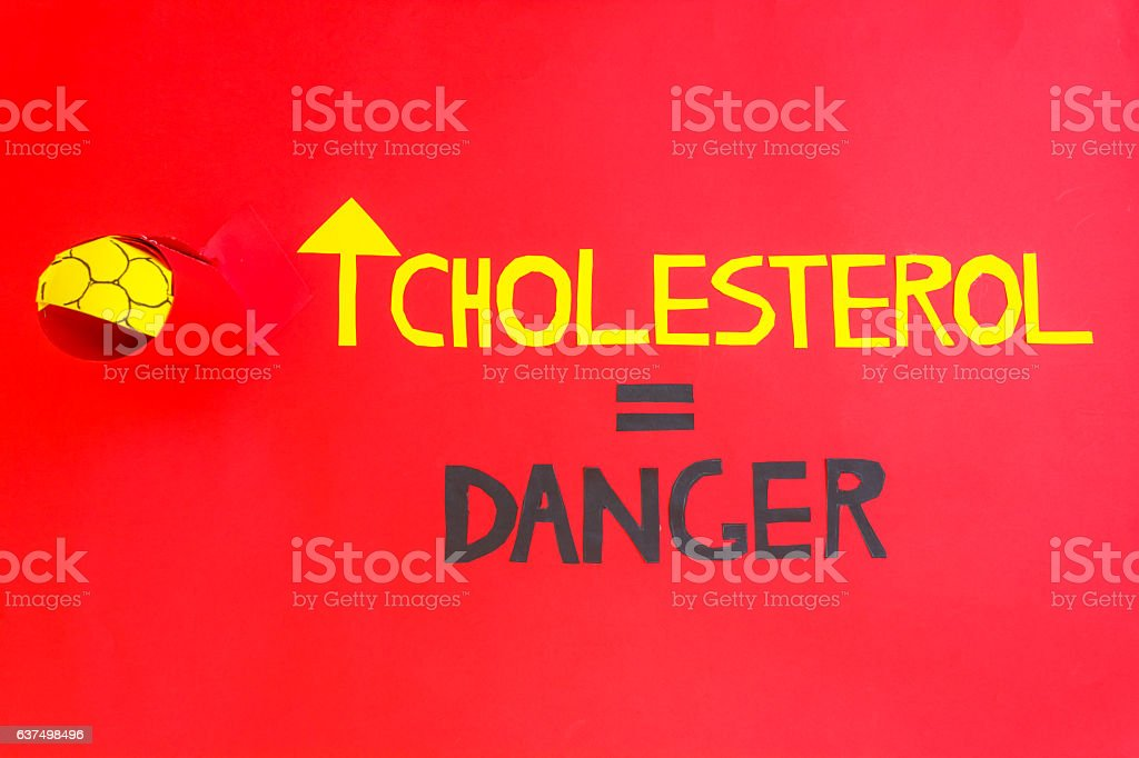 atherosclerosis is very dangerous for heart health stock photo