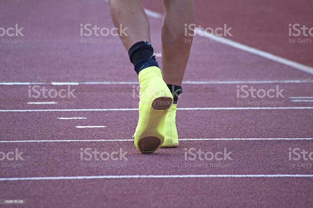 Athlete royalty-free stock photo