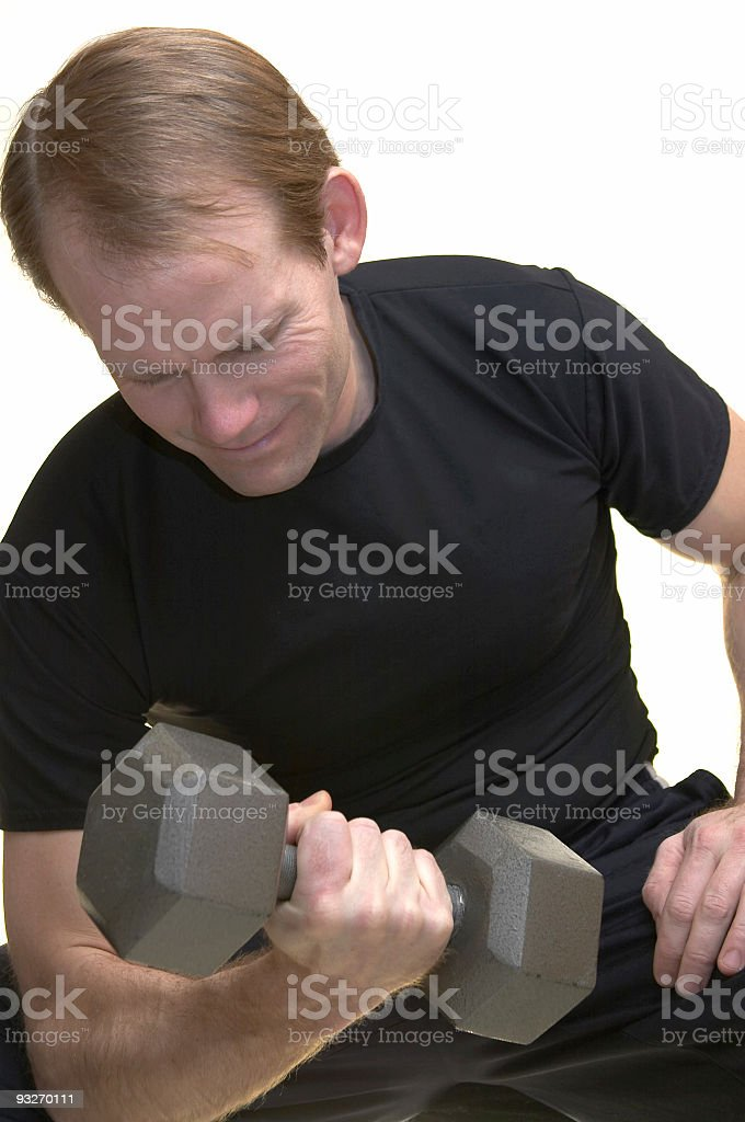 Athlete - Weightlifting stock photo