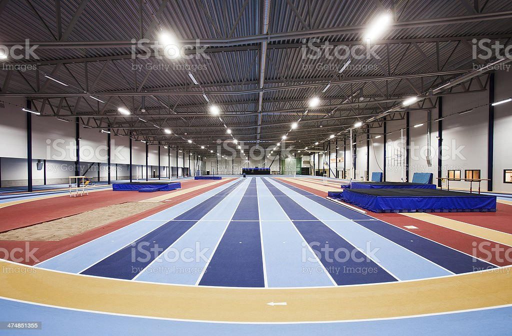 Athletic arena stock photo