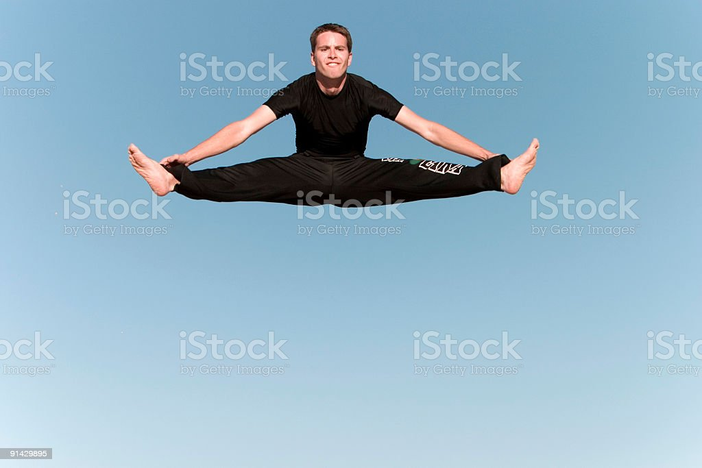Athletic Gymnast royalty-free stock photo