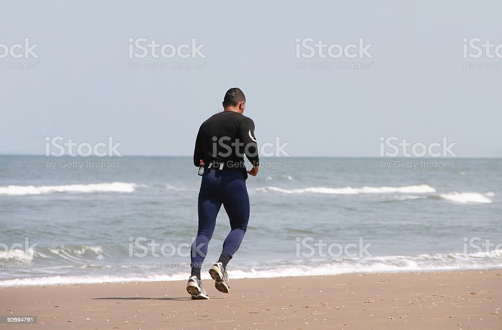 Athletic Jogger royalty-free stock photo