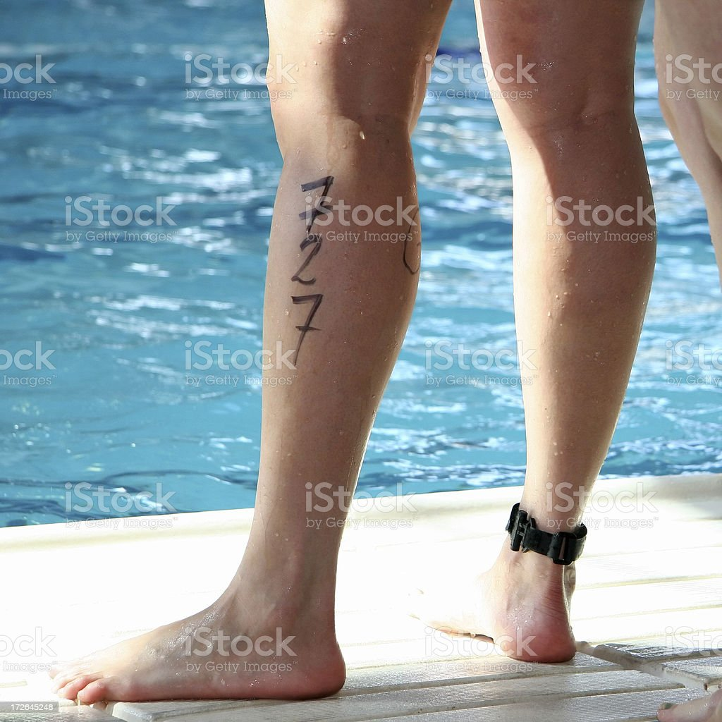 Athletic Legs (727) royalty-free stock photo