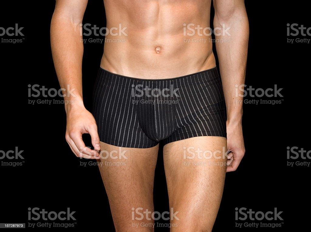 athletic male body stock photo