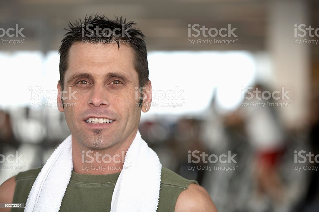 Athletic Man royalty-free stock photo