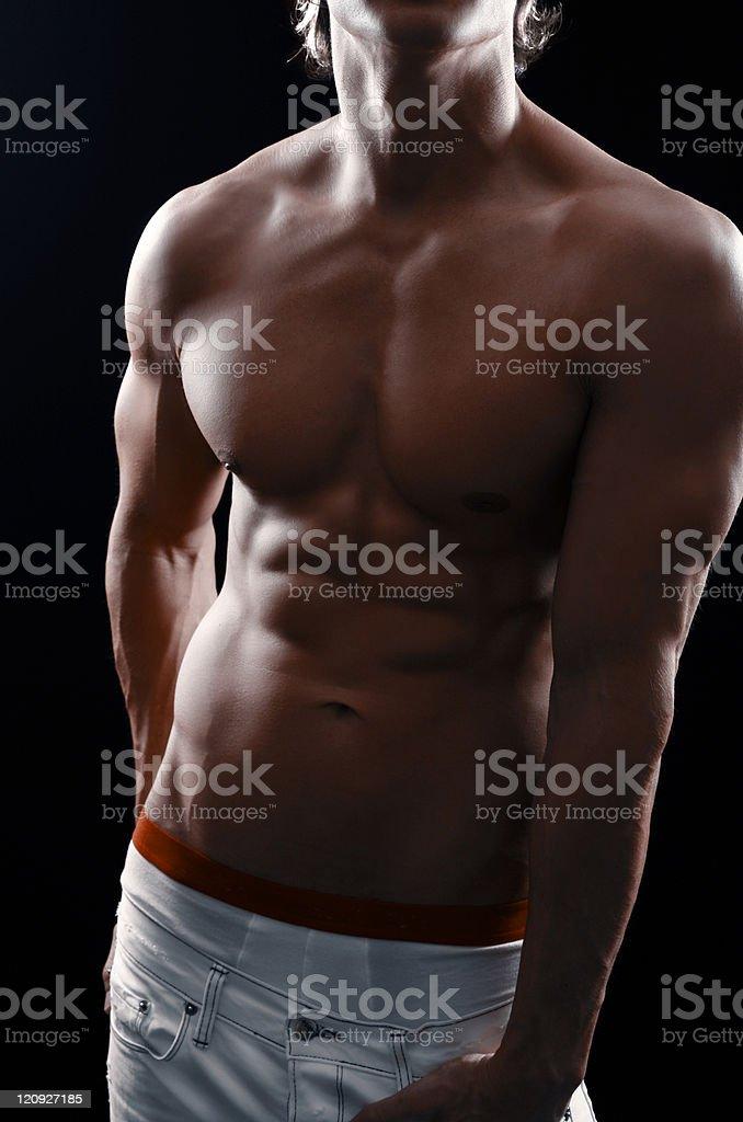 Athletic Portrait royalty-free stock photo