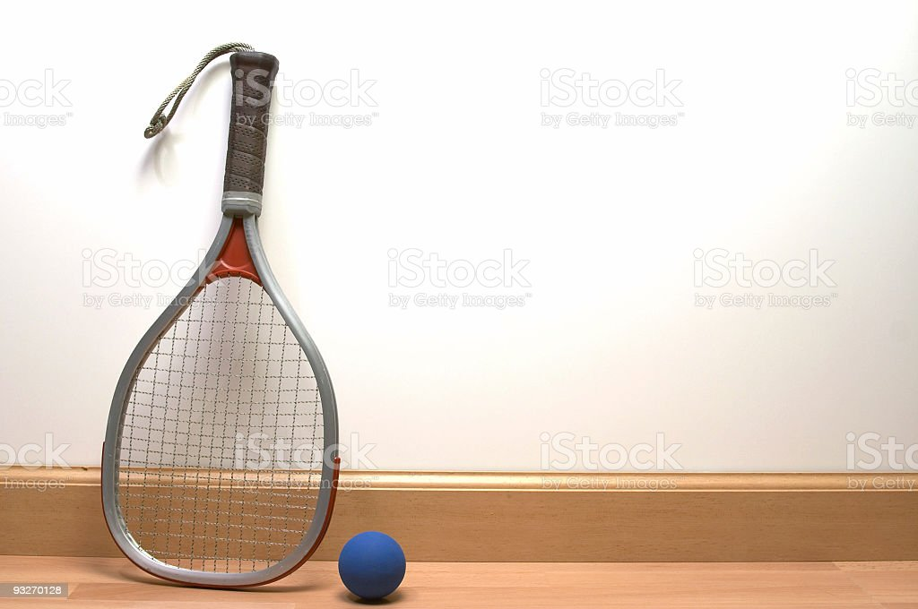 Athletic - Racquetball Court royalty-free stock photo