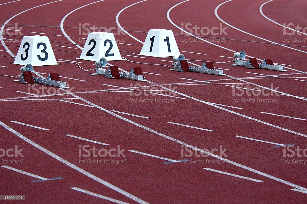 Athletic Stadium royalty-free stock photo