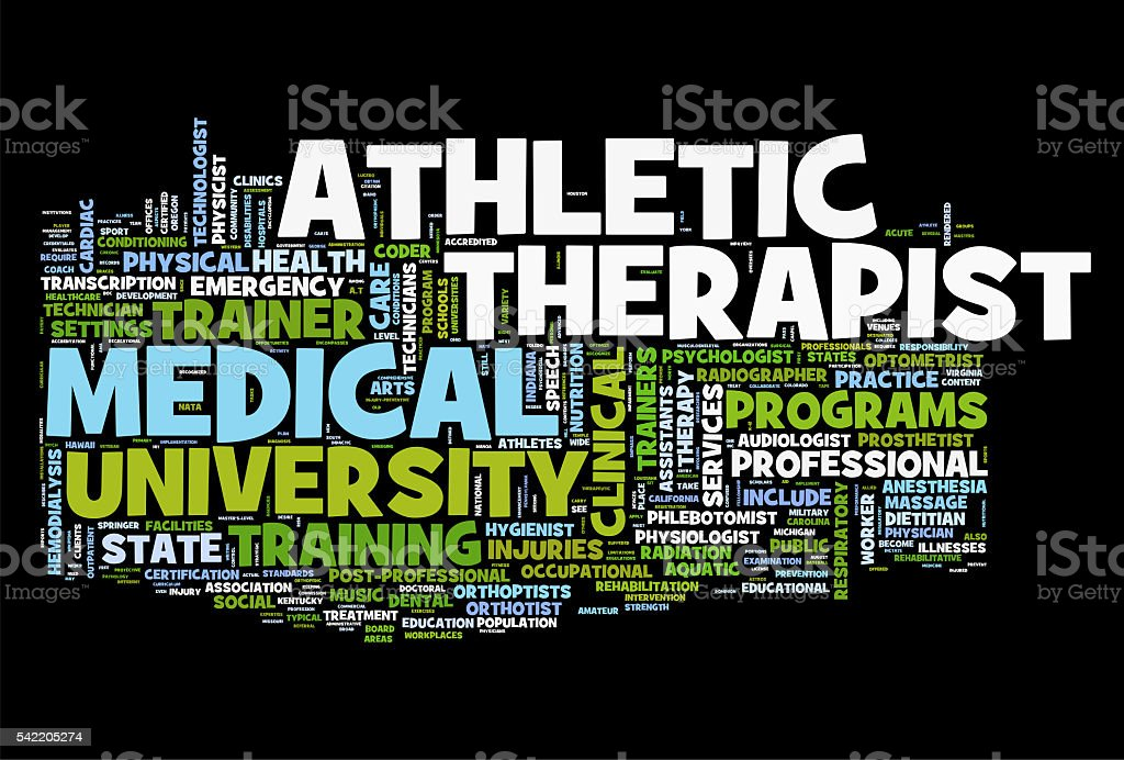 Athletic Therapy stock photo