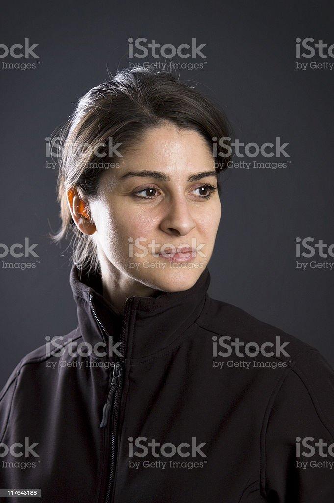 Athletic Woman Portrait stock photo