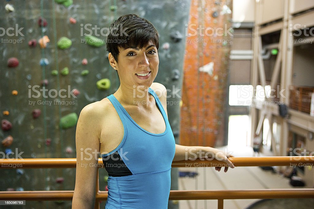 Athletic Woman Posing stock photo