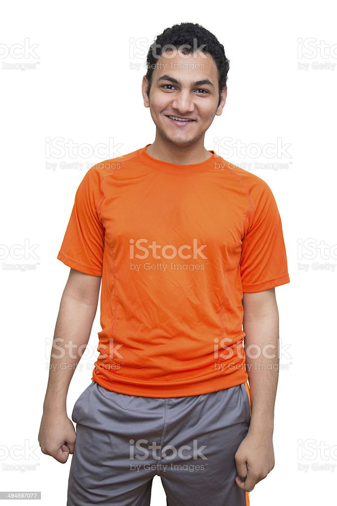 Athletic young man royalty-free stock photo