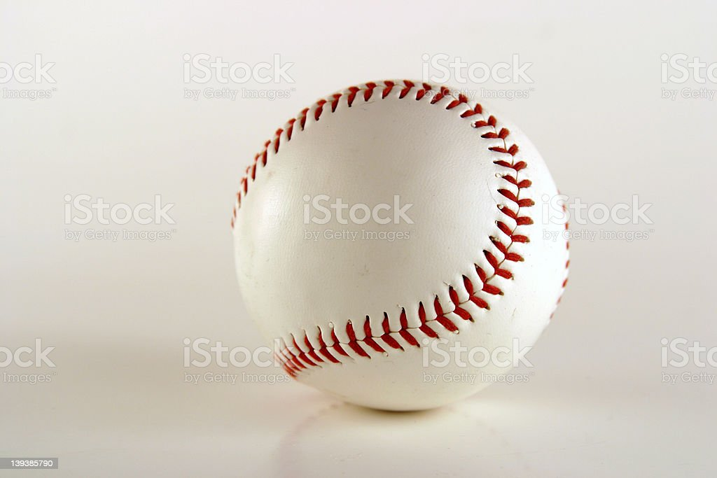 Athletics - Baseball royalty-free stock photo
