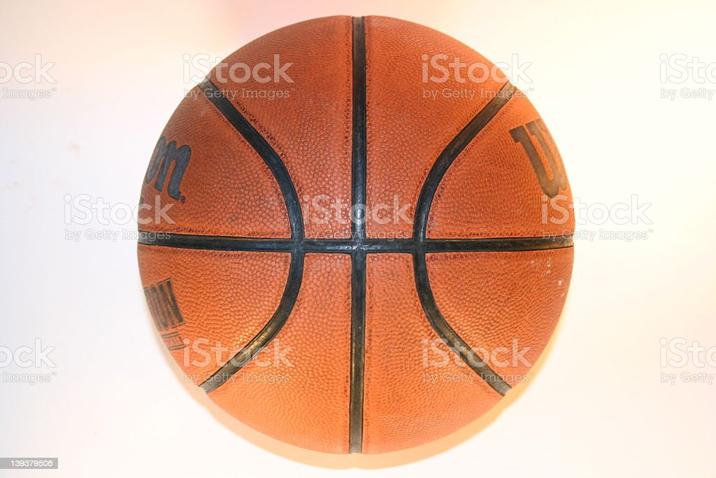 Athletics - Basketball royalty-free stock photo