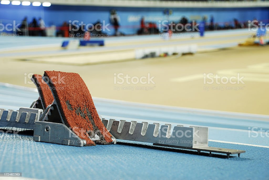 Athletics royalty-free stock photo