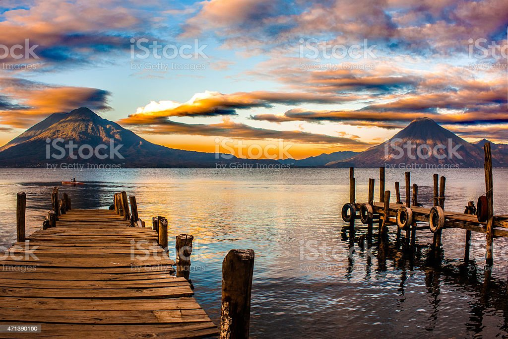 Atitlan - Guatemala stock photo