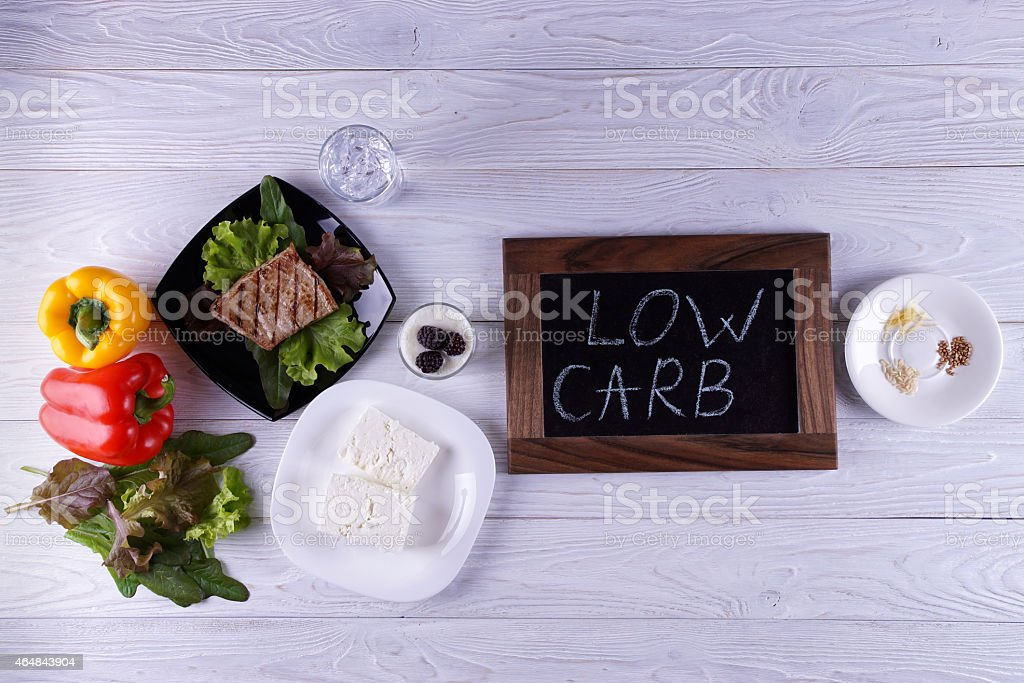 Atkins diet stock photo