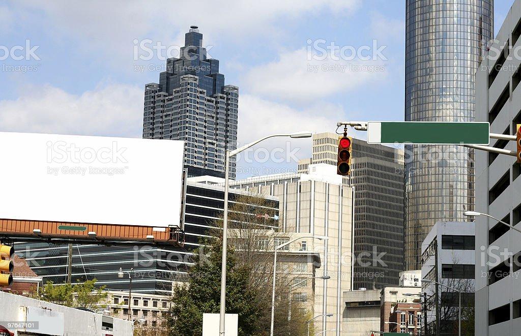 atlanta cityscape royalty-free stock photo
