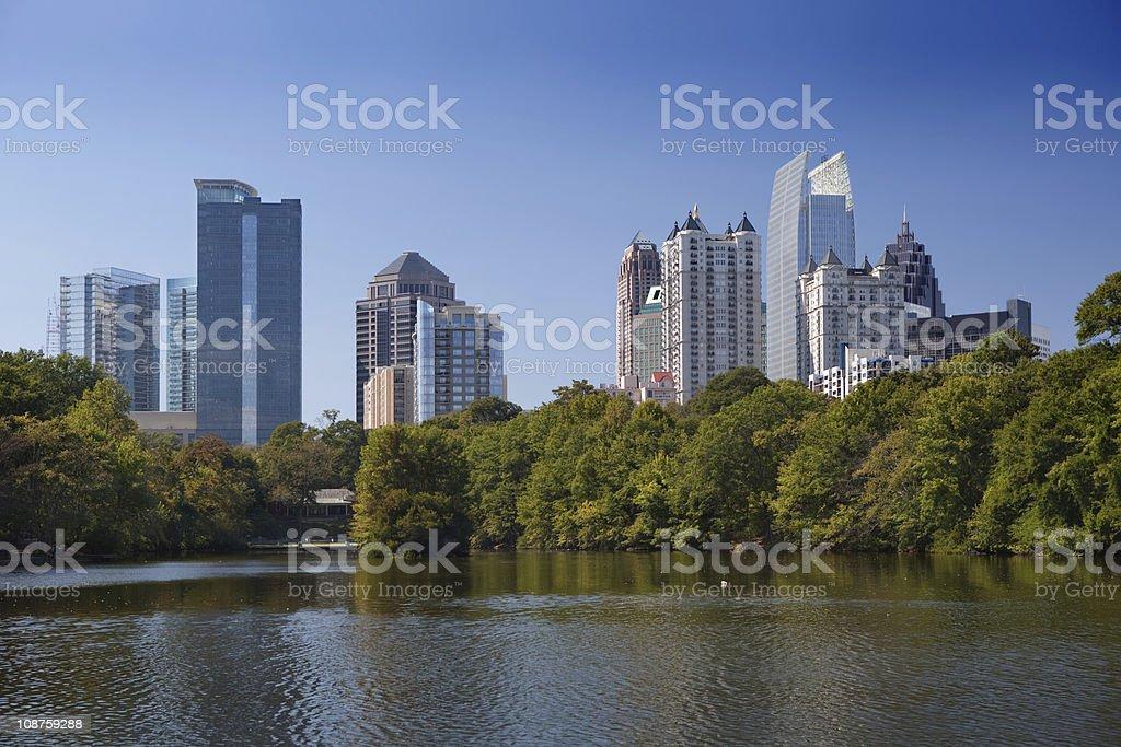 Atlanta, Downtown. royalty-free stock photo