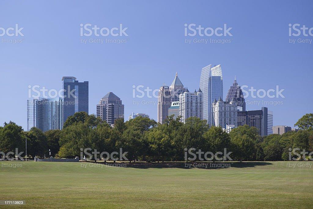 Atlanta, Downtown. stock photo