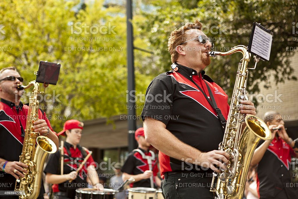 Atlanta Freedom Bands stock photo