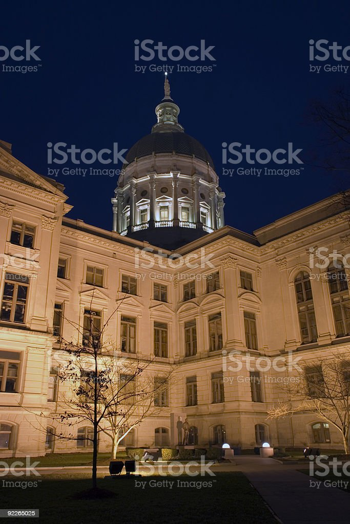 Atlanta, Georgia - State Capitol stock photo