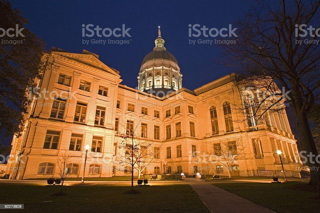 Atlanta, Georgia - State Capitol stock photo