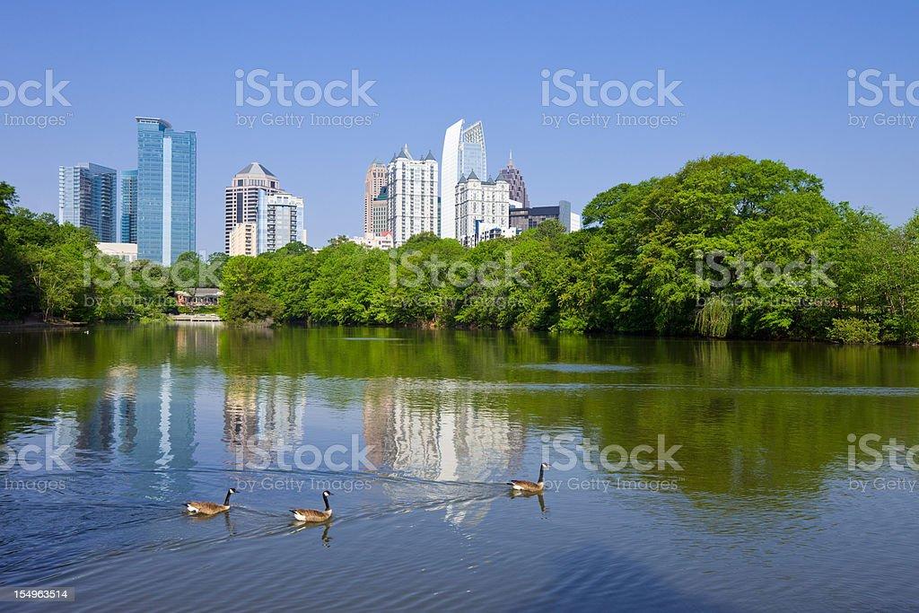 Atlanta, Georgia, USA royalty-free stock photo